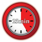 25 minutes to excellence