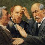 3 guys talk