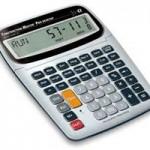 Bring a calculator