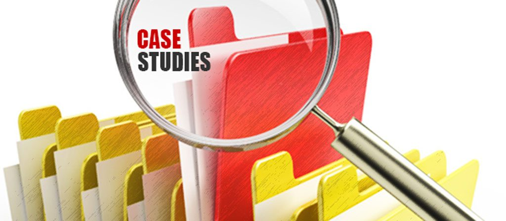 it case studies Case studies are a great way to tell the world how valuable your products or services are by showing real-life examples of how you were able to satisfy your customer's needs and help them accomplish your goals.