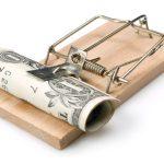 Disturbing traps when finding the money