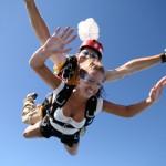 Reverse Skydiving